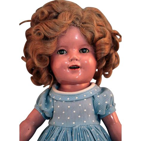 composition doll 13 shirley temple by ideal original composition doll 13 quot