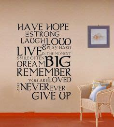 Inspirational Birthday Quotes For Nephew Giant Never Ever Give Up Inspirational Quote Wall Decal