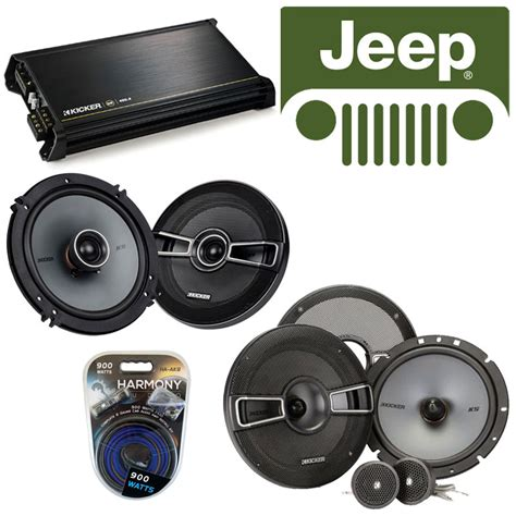 Jeep Wrangler Speaker Replacement Fit Jeep Wrangler 2007 2014 Speaker Replacement Kicker