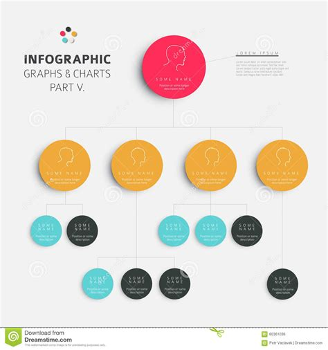color info set of vector flat design infographic charts and graphs 5