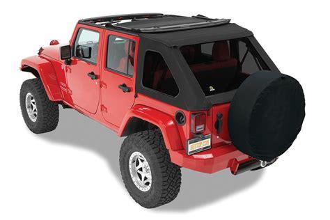 jeep soft top bestop 56923 17 trektop nx twill soft top for 07 18 jeep