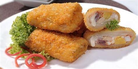 cara membuat risoles udang mayonaise kuliner resep risoles mayo plus smoked beef dan keju