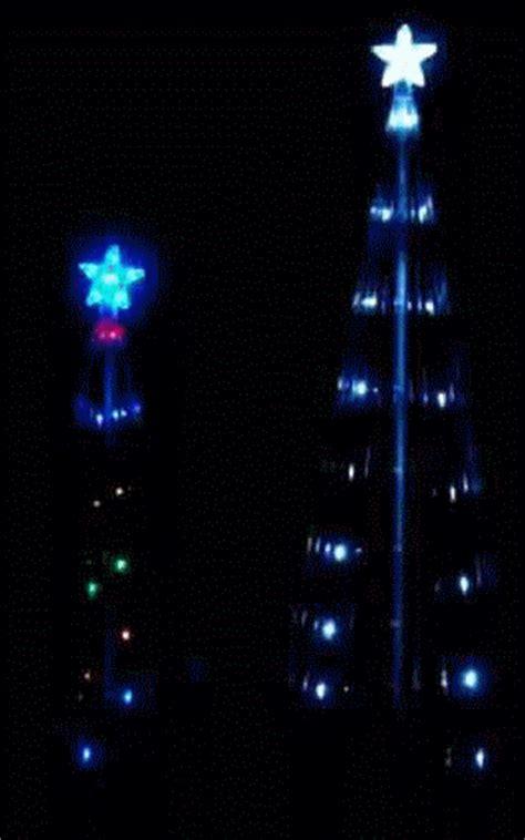 led light show christmas tree christmas decore