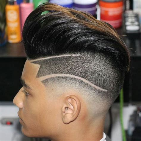 droplines hairstyle drop fade haircut