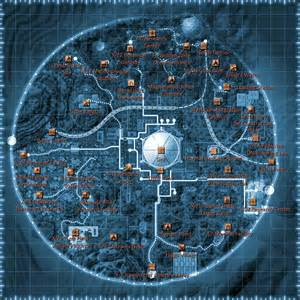 Map Of Fallout New Vegas by Old World Blues Big Mt Map Mr T Regular Guy