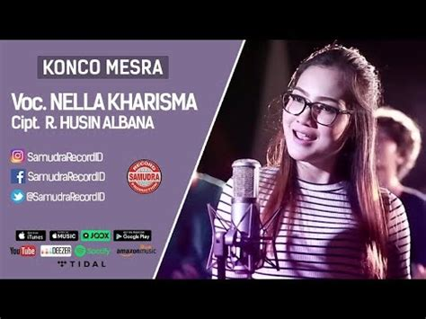 download mp3 via vallen lali rasane tresno via vallen konco mesra with one nada official music video