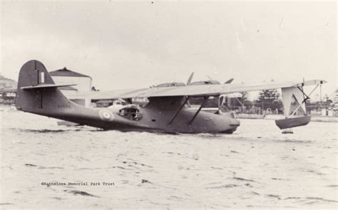 flying boat to australia a24 1 first pby catalina for australia rose bay sydney