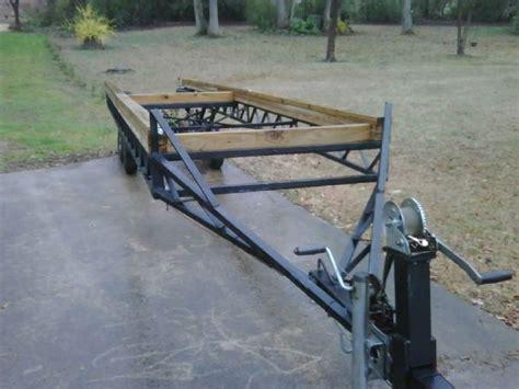 pontoon boat trailer types hoosier type pontoon trailer pontoon forum gt get help