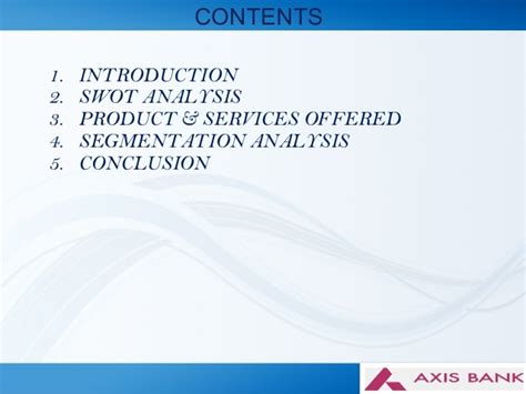 services of axis bank axis bank segmentation axis bank products services