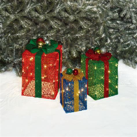 100 christmas decorative boxes gold christmas gift