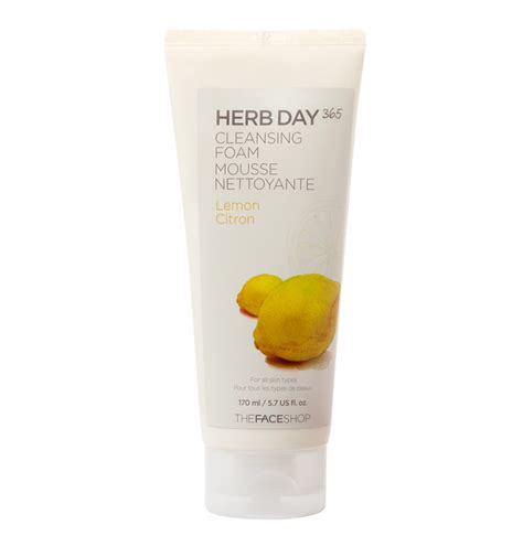 7 Day Detox Cleanse For Acne by Herb Day Cleansing Foam Lemon A The Shop Exclusive