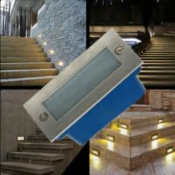 Recessed Stair Lights Indoor by Outdoor Led Stair Light 3w Led Wall Lamp Night Light Led