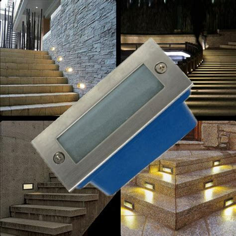 Recessed Led Outdoor Step Lights Outdoor Led Stair Light 3w Led Wall L Light Led Step Light Recessed Floor Light Warm