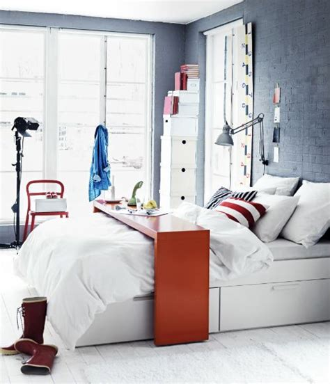 ikea over the bed table the malm occasional table is perfect for an in bed