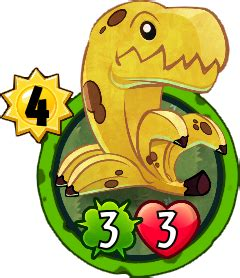 pvz heroes empty card template bananasaurus rex plants vs zombies wiki fandom