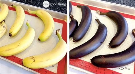 how to quickly ripen bananas for making banana bread one good thing by jillee
