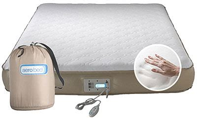 zone of antique world aerobed 16912 size memory foam aero mattress