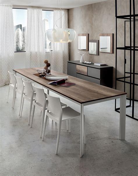 tavolo soggiorno moderno mario tavolo allungabile per cucina o soggiorno
