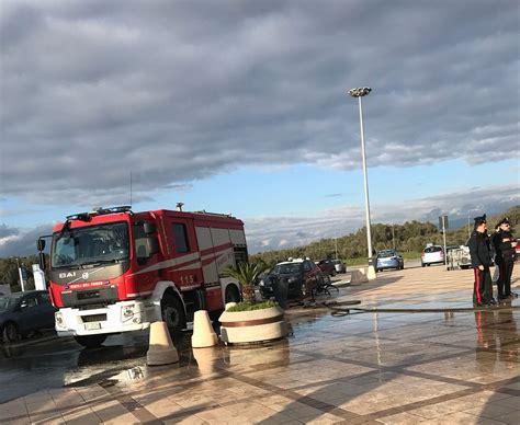 porto degli ulivi rizziconi principio di incendio al porto degli ulivi inquieto notizie
