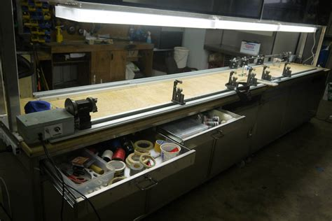 fishing rod table l new rod building table saltwater fishing forums