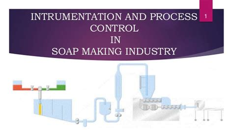 instrumentation and process instrumentation and process in soap industry