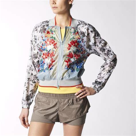 Floral Light Jacket adidas by stella mccartney s run light jacket