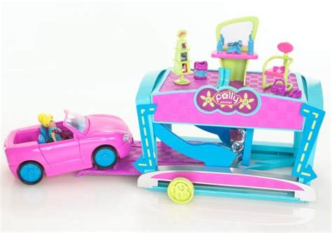 Polly Pocket Auto by Polly Pocket Quik Clik Car Cool Makeover Buy Online In