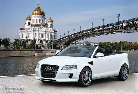 Audi A3 Cabrio Tuning by Hofele Audi A3 Cabrio Car Tuning