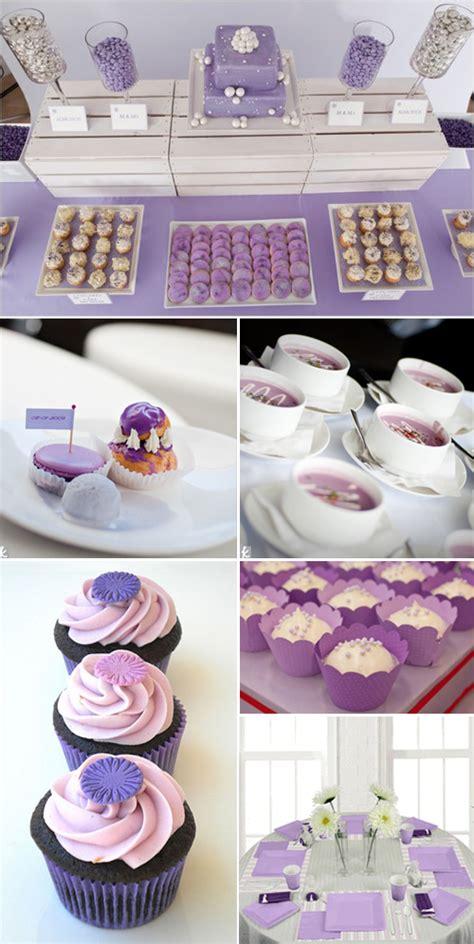 purple ideas for bridal shower lavender bridal shower