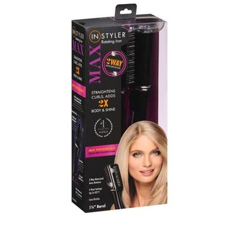 The Hair Styler Reviews by Instyler Max Review 2 Way Hair Straightener And Curler