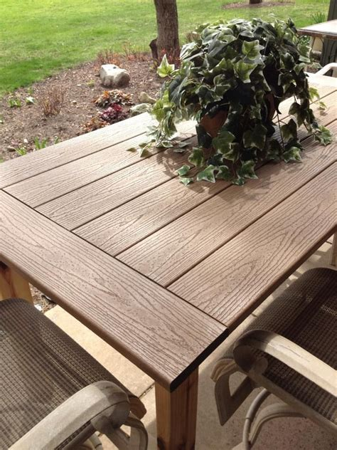 build outdoor furniture with composite wood woodworking