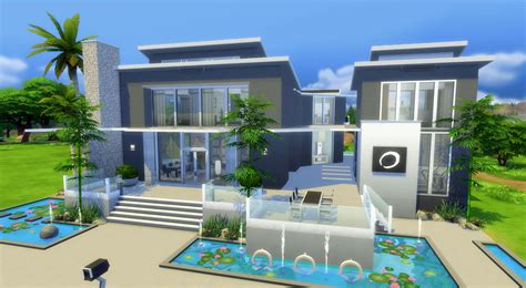 Ultra Modern Villa now on The Sims 4 Gallery!   Sims
