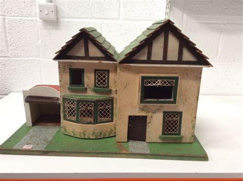dolls house garage 1930s amersham dolls house 2 storey with garage doll houses dolls and house