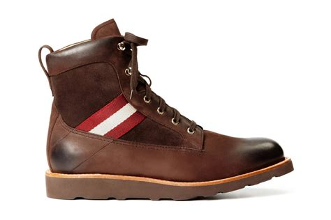 bally boots bally grosgrain hiking boots hypebeast