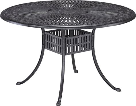 round outdoor dining table 48 round patio table home design ideas and inspiration