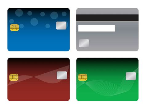 Bank Cards Templates Vector Art Graphics Freevector Com Card Photo Templates Free