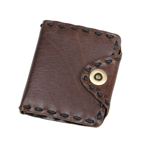 Leather Wallet Handmade - handmade leather wallet pocket purse