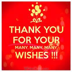 birthday thank you note sles birthday wishes birthdays and wish quotes