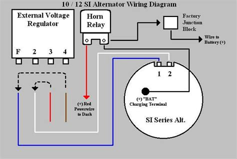 internally regulated alternator wiring diagram 46 wiring