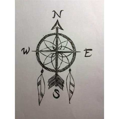 dreamcatcher compass tattoo compass dream catcher tattoo tattoos piercings