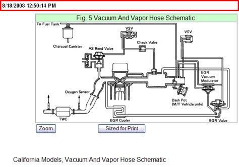 89 Toyota Vacuum Diagram 89 Toyota Vacuum Diagram Best Free Home