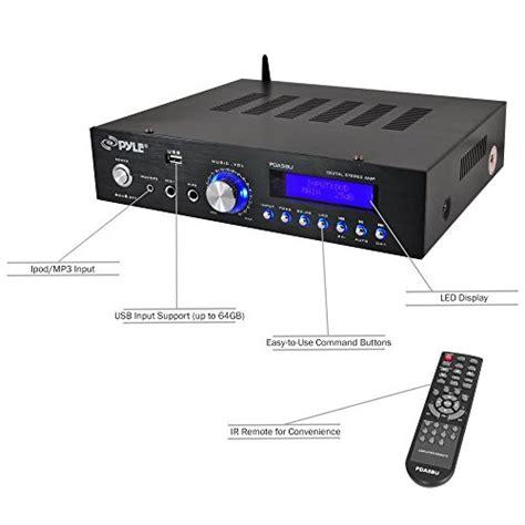 Speaker Usb Tp 200 Bt pyle pda5bu bluetooth stereo lifier compact