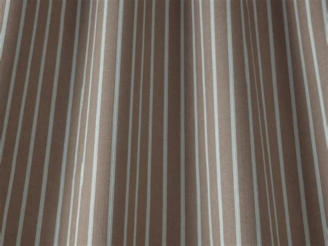 Taupe Striped Curtains Iliv Ticking Stripe Curtain Fabric Taupe