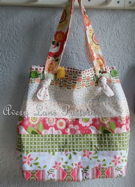 knot tote bag pattern pdf sewing pattern market tote bag with knot straps avery