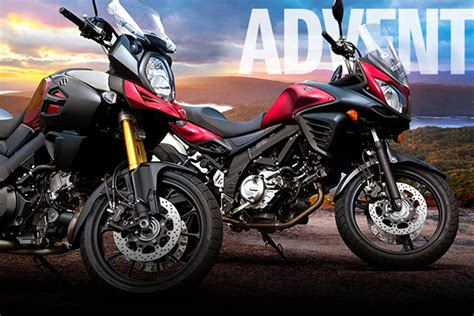 Suzuki Models Suzuki 2016 Models And Prices For Us Adv Bike Lineup Adv
