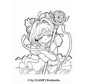 Sakura The Card Captor Coloring Pages  Hellokidscom
