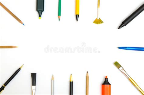Drawing Utensils by Writing And Drawing Utensils Stock Image Image Of
