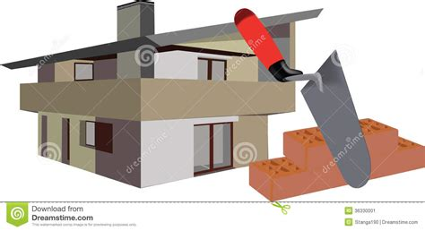Tools for building stock vector. Image of tools, estate