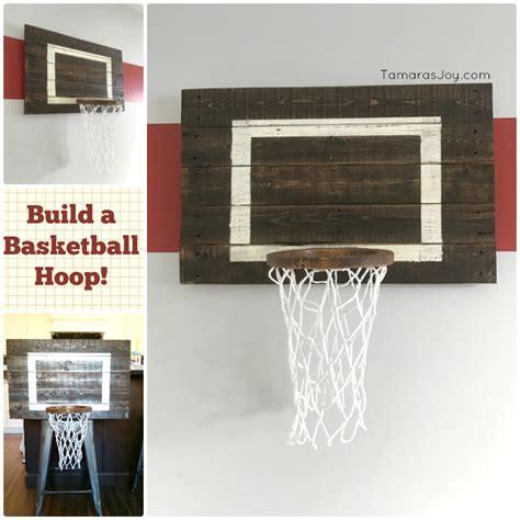 ana white basketball hoop  bedroom decor play diy
