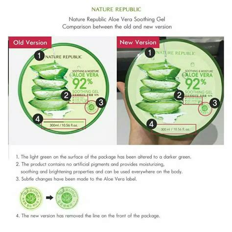 Harga Nature Republic Original 100 original nature republic aloe vera elevenia